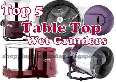 Best Table top wet grinders