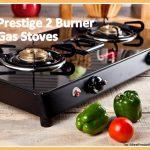 Prestige gas stove 2 burner