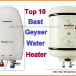 Best Geyser Water Heaters in India