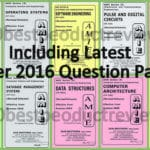 Jain Brothers books AMIE Solved Question Papers
