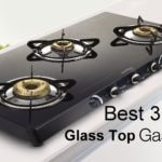 Best 3 Burner Glass Top Gas Stoves