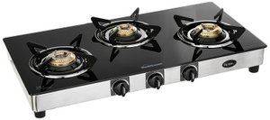 Best Sunflame Regal 3 Burner Gas Stove
