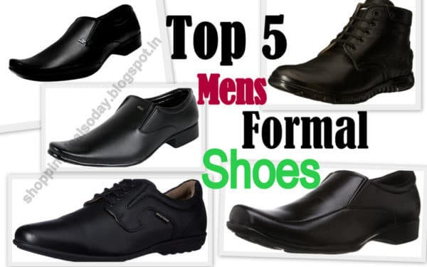 Top 5 Best Formal Shoes Men