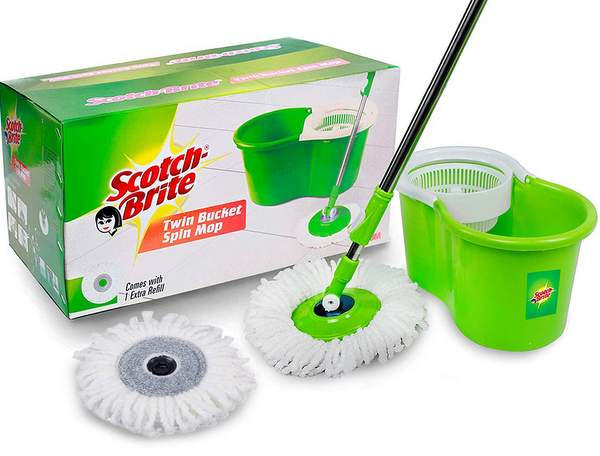 Best Spin Bucket Mops in India