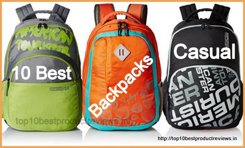Top 10 Best Casual Backpacks in India