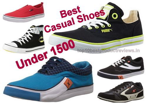 10 Best Casual Shoes Under 1500 Rupees in India