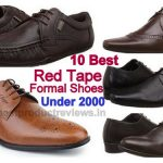 Best red tape formal shoes under 2000
