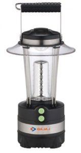 Bajaj LEDGlow 648 LR 48-LED Rechargeable Lantern (Black)