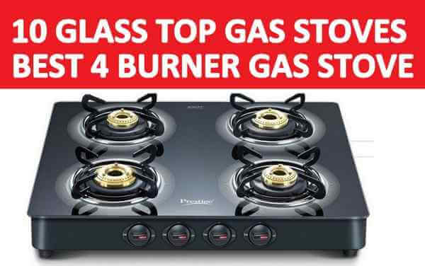 Best 4 Burner Gas Stove in India
