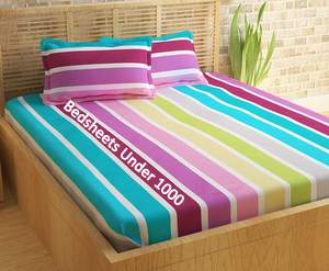 Best Cotton Double Bed Sheets Under 1000
