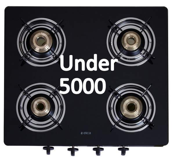 Best 4 Burner Gas Stove under 5000