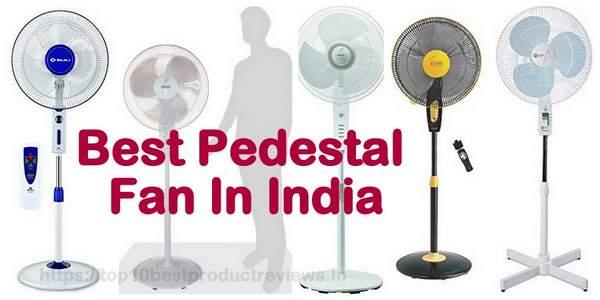 Best Pedestal Fans in India