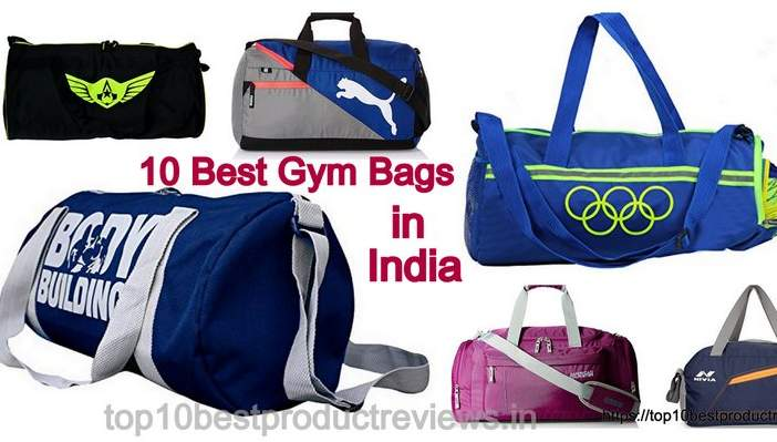 Top 10 Best Gym Bags in India online