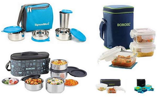 Top 10 Best Lunch Boxes in India Online to Buy