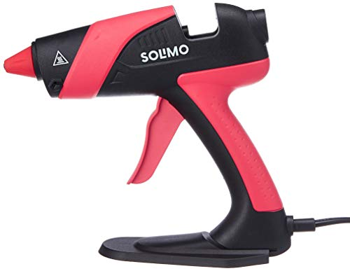 Amazon Brand - Solimo Hot Melt Glue Gun, 70 W, Compatible with 11mm Glue Stick