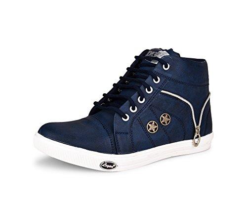 ESSENCE Men's Sneakers Blue Synthetic 9