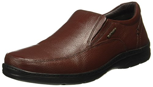 Hush Puppies Men's Taylor Slip On Dark Brown Leather Formal Shoes-9 UK/India (43 EU) (8544866090_8544866)