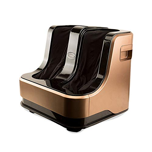 Lifelong LLM135 Eco Leg and Foot Massager (Without Heat and Vibration) 80W, 4 Motors, Brown