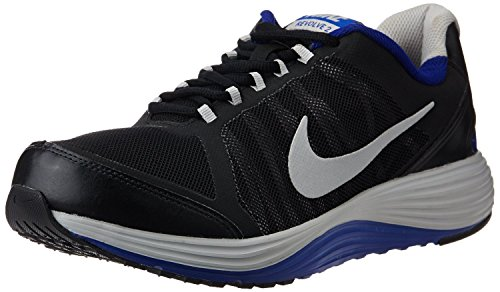 Nike Men's Revolve 2Black, Metallic Silver and WhiteRunning Shoes -11 UK (46 EU) (12 US) (715525-003)