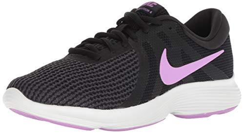 Nike Men's WMNS Revolution 4 Running Shoes UK 3 (EUR 36) (cm 22.5) Black