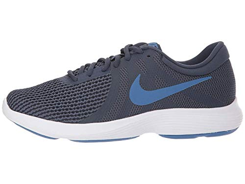 Nike Women's WMNS Revolution 4 Obsidn/Moutbl Running Shoes-4 UK (37.5 EU) (6.5 US) (908999-403)