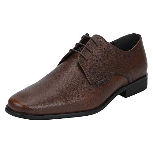 Red Tape Men's RTE1403 Tan Leather Formal Shoes-7 UK/India (41 EU) (RTE1403-7)