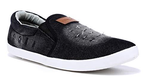 Sparx Men SM-278 Black White Casual Shoes