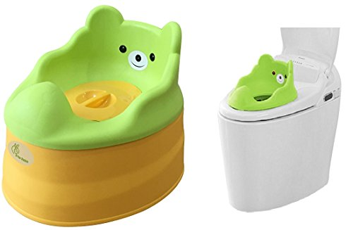 Tiny Tots – Adaptable Potty Training Seat (Green Yellow) from R for Rabbit